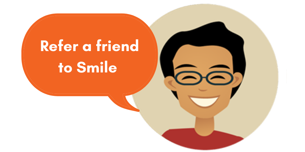 Refer a friend in children's social care to Smile Education