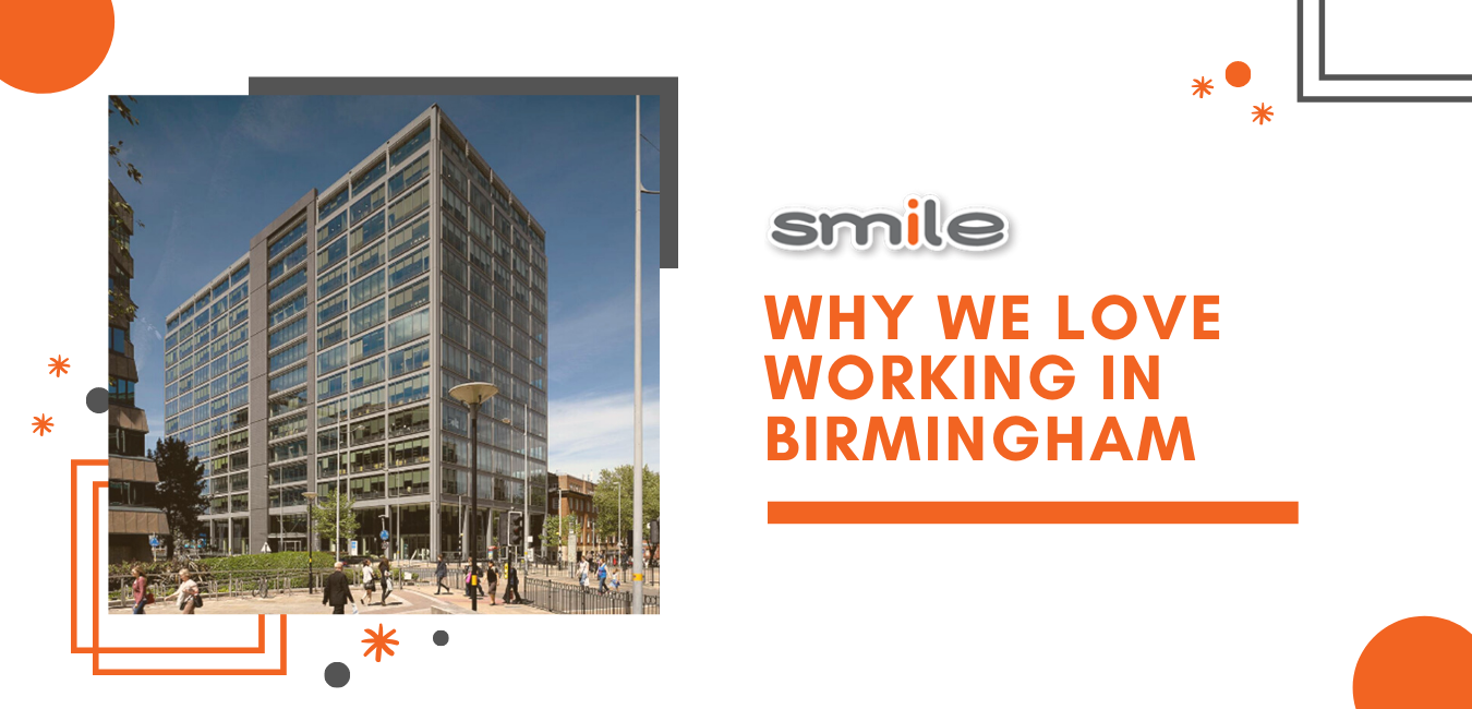 Why we love workng in Birmingham