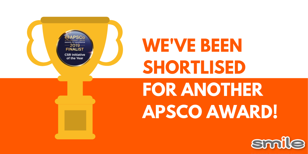 We've been shortlised for another APSCo award!
