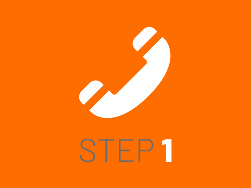 Smile Education's registration process - step 1