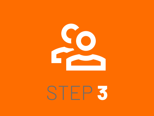 Smile Education's registration process - step 3
