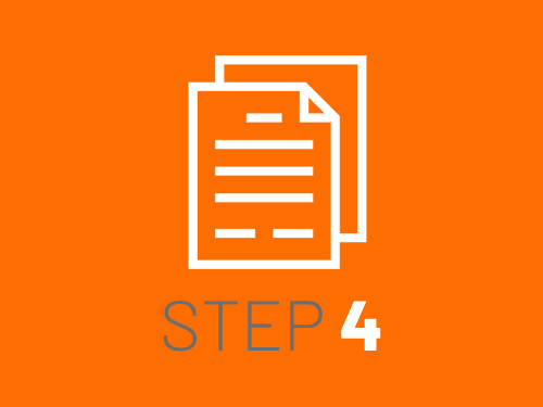 Smile Education's registration process - step 4