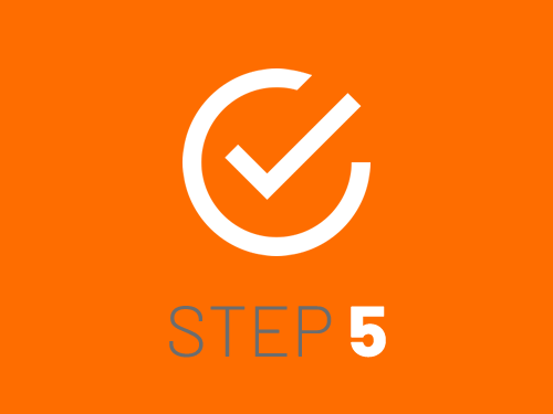 Smile Education's registration process - step 5